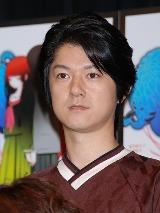 テレビアニメ『地獄少女 三鼎(みつがなえ)』の製作発表会に出席した松風雅也