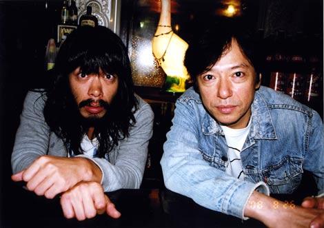 銀杏BOYZ・峯田和伸とコラボレーションし、ミニアルバム『ミュージック』を発売する板尾創路