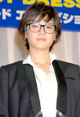 サムネイル 「第21回 日本メガネベストドレッサー賞」を受賞した上野樹里