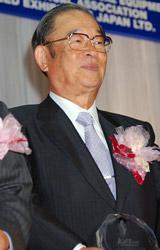 トヨタ(株)取締役会長の張富士夫氏