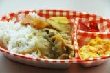 5日(日)に行われた法務省の「法の日フェスタ 赤れんがまつり」プログラム「刑務所の食事体験」で供されたチキンカレー