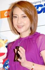 『東京ゲームショウ2008』会場で「今凄い幸せなんですよ」と語った西川史子