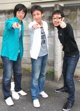 東京03(左より)豊本、飯塚、角田