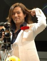 『ROBO_JAPAN 2008』応援団長の狩野英孝