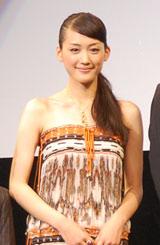 主演映画『ICHI』のジャパンプレミアに登場した綾瀬はるか