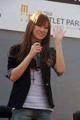 地元・兵庫でのトークショーに登場した北川景子