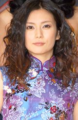 映画『少林少女』の完成披露セレモニーに出席した柴咲コウ