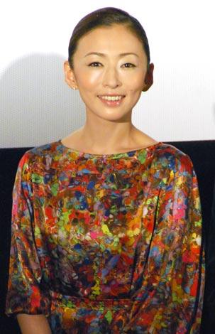 映画『余命』で主演を務める松雪泰子