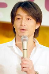連続テレビ小説『だんだん』のキャスト発表会に出席した吉田栄作