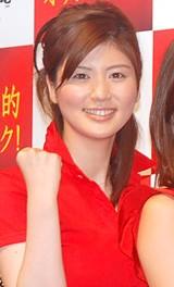 『北京オリンピック 民放テレビ放送』の記者発表会に出席した鈴江奈々アナ(日本テレビ)