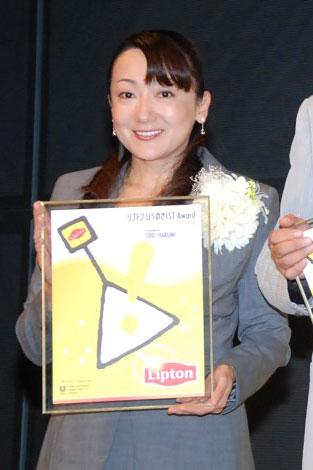 「リプトンひらめきIST AWARD 2008」を受賞したエド・はるみ