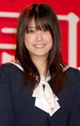 映画『櫻の園』舞台挨拶に出席した福田沙紀