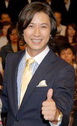 映画『ハンサム★スーツ』試写会イベントに出席した谷原章介