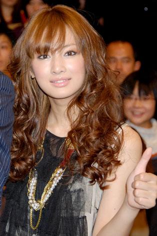映画『ハンサム★スーツ』試写会イベントに出席した北川景子