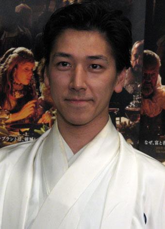 和泉元彌[08年1月撮影]