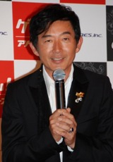 新遊戯施設『addict(アディクト)』のオープニングイベントに登場した石田純一