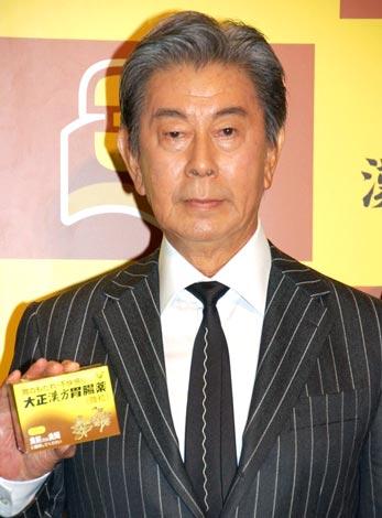 『大正漢方胃腸薬』発売30周年記念発表会に出席した、宇津井健 (C)ORICON DD inc.