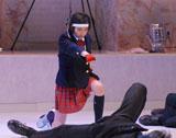 見事な殺陣を披露した高田光莉さん