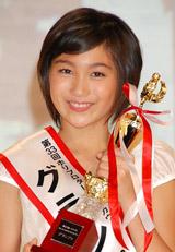 第33回ホリプロタレントスカウトキャラバンでグランプリに選ばれた高田光莉さん