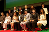 受賞者がそろった表彰式後の写真撮影