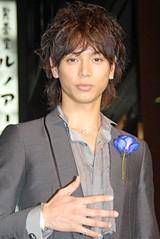 銀座・ティファニー本店のオープニングレセプションに出席した水嶋ヒロ