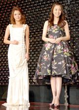 左から松本莉緒、小林麻央