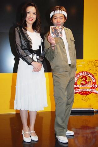 メッセンジャー・黒田有(右)と宇都宮まき(左)
