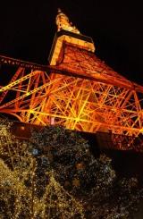 東京タワー開業50周年記念クリスマスイルミネーション