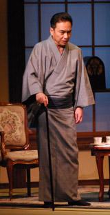 舞台『華々しき一族』の公開舞台稽古を行った西郷輝彦
