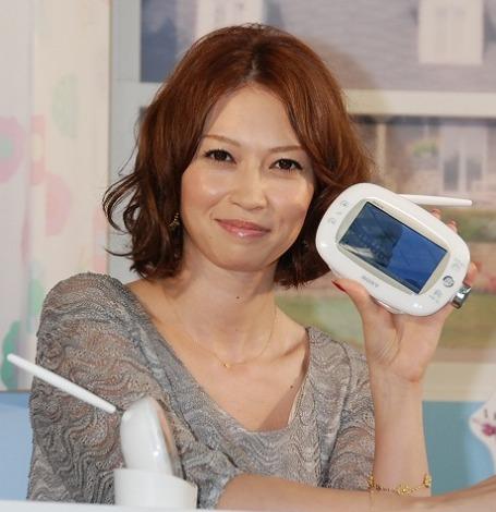 東京・六本木ヒルズで行われた『ハッピー バスルーム計画』にゲスト出演した辺見えみり