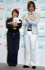 「ベスト・スマイル・オブ・ザ・イヤー2008」を受賞した谷本歩実、DAIGO