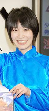 映画『少林老女』のDVD発売記念イベント行った長澤奈央