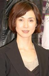 舞台『リチャード三世』製作発表会見に出席した安田成美