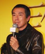 映画『誰も守ってくれない』完成記者会見に登場した柳葉敏郎