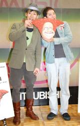 アニメ『アングリー・キッド』のDVD発売記念イベントに出席した(左から)小林尊、サバンナ・高橋茂雄