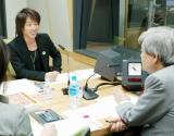 国政選挙出馬プランを語る田村淳(左)