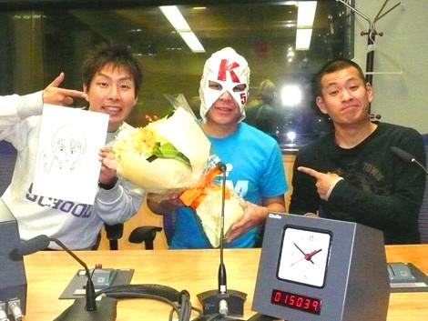 サムネイル (左より)U字工事・福田薫、K太郎、U字工事・益子卓郎