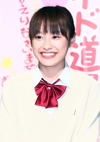 ドラマ『Q.E.D. 証明終了』(NHK総合)スタジオ収録取材会に出席した高橋愛
