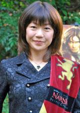 「ナルニア国」栄誉賞を受賞した高橋尚子さん