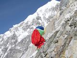 ヒマラヤ山の登頂を目指すガチャピンヒマラヤ山の登頂を目指すガチャピン (C)2008 フジテレビ KIDS