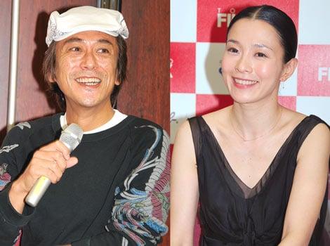 映画『ノン子36歳(家事手伝い)』のトークショーで、風変わりな「夫婦役を演じたい」と意気込んだ寺島進、坂井真紀