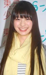 ドラマ『東京少女山下リオ』(BS-i)の記者発表に出席した山下リオ