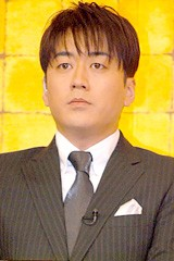 TBS・安住紳一郎アナウンサー[08年3月撮影]