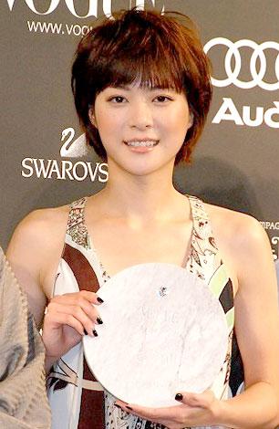 サムネイル 『2008年の女性の顔』に選ばれた上野樹里