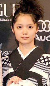 『2008年の女性の顔』に選ばれた宮崎あおい