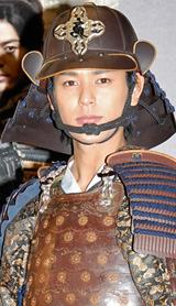 NHK大河ドラマ『天地人』で主人公・直江兼続を演じる妻夫木聡
