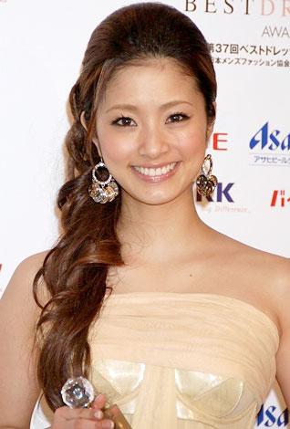 サムネイル 「2008年ベストドレッサー賞」を受賞した上戸彩