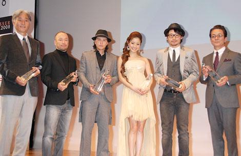 「2008年ベストドレッサー賞」授賞式の様子