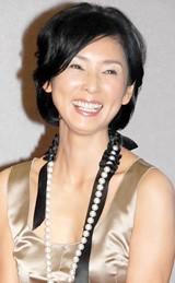 NHK時代劇スペシャル『母恋ひの記』の記者会見に出席した黒木瞳