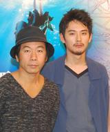 『悪夢探偵2』で2度目のタッグを組む松田龍平と塚本晋也監督